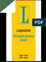 Diccionario Aleman
