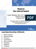 50 Malaria the Clinical Basics FINAL