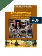 Adolescencia Proteccion y Riesgo en Costa Rica