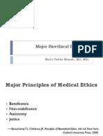 Major Bioethical Principles