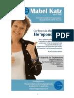Conferencia de Hooponopono