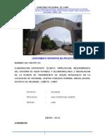 Informe de Estudio Topografico-pacaran