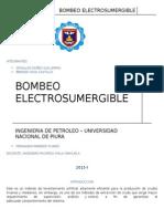 bombeo electrosumegible