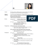 Tiffany WEBSITE Resume