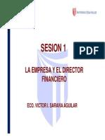 FI - SESION 1 / FINANZAS CORPORATIVAS