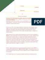 El Verso Proyectivo, OLSON