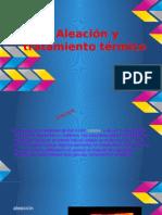 Trabajo de Aleacion y Tratamiento Termico