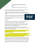 Ciudadanía VERSUS Gobernabilidad Republicana en México