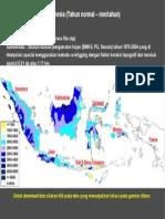 Peta Hujan indonesia