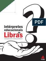 Interprete Educacionais de Libras Orientacoes Para Pratica Profissional