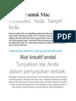 Keynote Untuk Mac