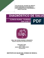 Diagnóstico de Salud San José Toxi 2014-2015