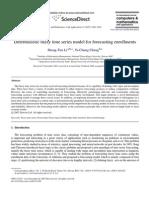 Deterministic FTS Model for Forecasting Enrollments