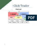 One Click Trader Manual ENG