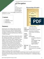 Merleau-Ponty-Book Summary (Wiki)