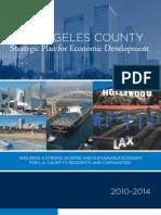 LA County Strategic Plan for ED