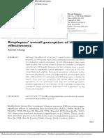 Emp Perception of HRM