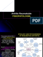 Clase 1-Fisiopatología de La Artritis Reumatoidea