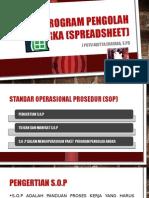 Paket Program Pengolah Angka (Spreadsheet)