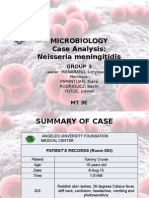 N. Meningitidis Case Study