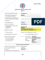 Pf Withdrawl Forms 19 Sample