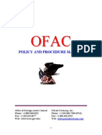 OFAC Policy & Procedure Manual 2011