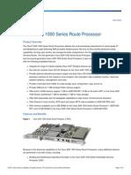 Cisco ASR 1000 Series Route Processor