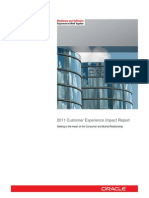 Customer Experience Impact Report