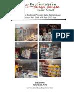 Realisasi Program Kerja Perpus Tahun Pembelajaran 2014-2015