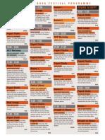 2015 Open Book Festival Programme (9 - 13 September)