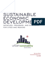 Sustainable Economic Development