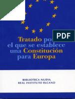 Tratado Constitucion Europea Elcano
