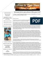 Carta Misionera Julio 2015