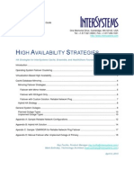 High Availability Strategies