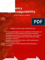 Pregnancy Hypercoagulability