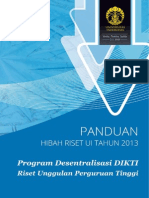 Buku Panduan Riset Ui 2013