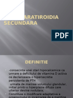 HIPERPARATIROIDIA SECUNDARA