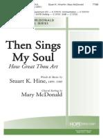 Then Sing My Soul