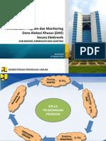 Materi Pra Konsultasi DAK 2015 Bidang Infrastruktur Sanitasi Dan Air Minum - Wilayah Timur