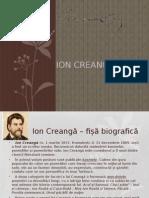 Portofoliu Ion Creangă