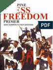 Philippine Press Freedom Primer (2007)