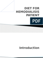 Diet for Hemodialisis
