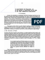 Calvin Book III on Prayer