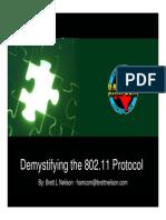 KC7IIB - Demystifying the 802 11 Protocol
