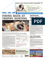 Asbury Park Press front page, August 11, 2015