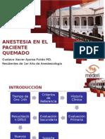 Anestesia y Quemaduras