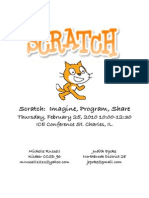 Scratch Workshop Handout 2010