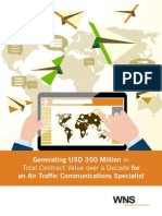 Generating USD 350 Million in Total Contract Value over a Decade for an Air Traffic Communications Specialist