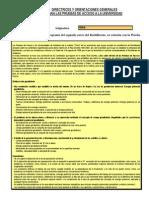 Directrices y Orientaciones Generales Para Las Pruebas