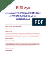 BUS 250